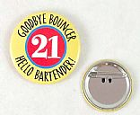Tinplate badges
