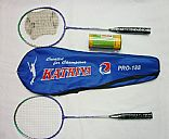 Metal badminton suit